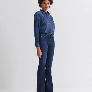 Ag Adriano Goldschmied Jeans - Ag The Angel Boot Cut Denim